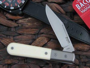 Lion Steel Shuffler Clip Jack Bone Micarta Handles M390 Steel CK0112