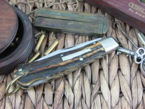 Remington R1306 Bullet Trapper Stag – Good   CollectorKnives