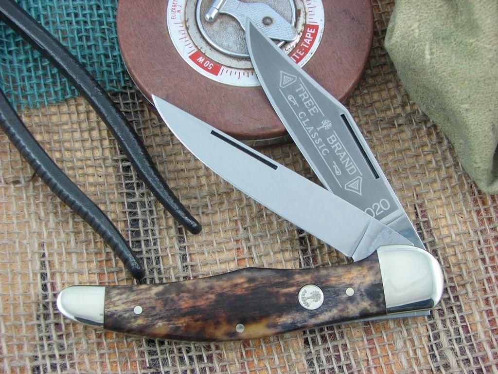 Boker Knives Folding Hunter Appaloosa Bone 2020 112020BK ...