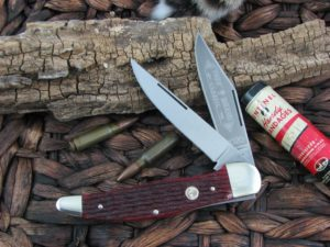 Boker Knives Folding Hunter Red Bone 2020 112020JRB