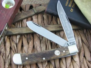 Boker Knives Trapper Smooth Buckskin Bone 2525 112525BK