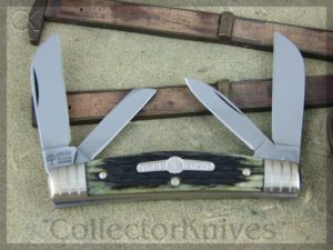 Boker Congress Tree Brand Green Bone