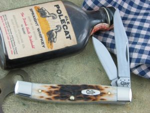 Case Knives Texas Jack AmberBone 62032 CA00077