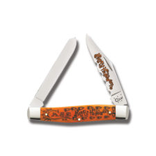 Case Knife Moose Halloween Persimmon Bone 6275 CA10554