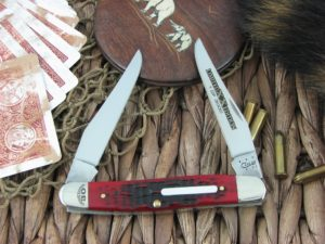 Case Knives Muskrat Brick Red Bone CA11634