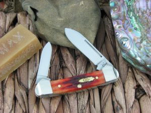 Case Knives Butterbean Whiskey Bone 62132 CA11905