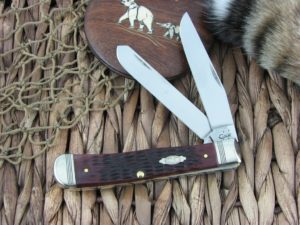 Case Knives Trapper Rogers Walnut Bone TruSharp Stainless 6254 CA26020