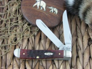 Case Knives Mini Trapper Rogers Walnut Bone TruSharp 6207 CA26027