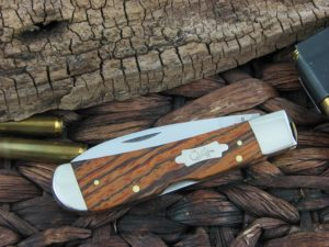 Case Cutlery Tribal Lock Curly Zebra Wood TB712010L TruSharp CA26256