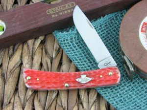 Case Cutlery Sodbuster Jr Burnt Salmon Bone 6137 TruSharp CA27051