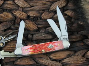Case Knives Medium Stockman Burnt Salmon CA27054