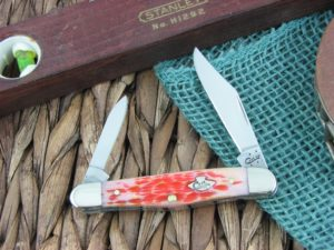 Case Knives Half Whittler Burnt Salmon Bone TruSharp CA27056
