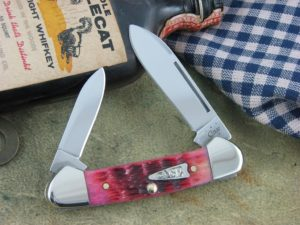 Case Knives Butterbean Raspberry Bone 62132 CA40504