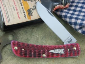 Case Cutlery Sodbuster Jr Raspberry Bone 6137 CA40507