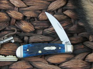 Case Cutlery Sway Back Ocean Blue Bone TB61117 TruSharp CA46668