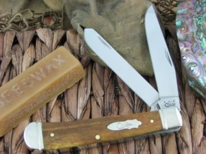 Case Knives Trapper Smooth Antique Bone TruSharp 6254 CA58182