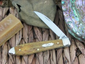 Case Cutlery Teardrop Jack Smooth Antique Bone TB61028W CA58183