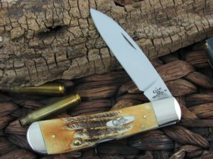 Case Cutlery Tribal Lock Bone Stag TB6.512010L TruSharp CA65312