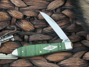Case Cutlery Teardrop Jack Green Curly Maple TB71028W TruSharp CA65563