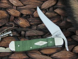 Case Cutlery Russlock Green Curly Maple 761953L TruSharp CA65565