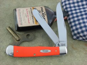 Case Knives Trapper Orange Composite TruSharp 4254 CA80500
