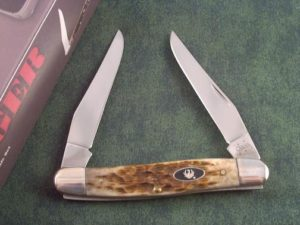 Case Knives Ruger Burnt Honey Bone Series Muskrat