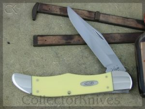 Case Knives Folding Hunter Yellow Delrin CA0735
