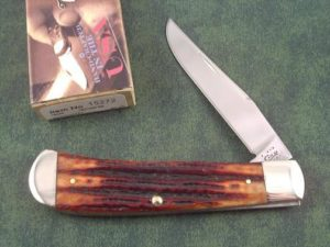 Case Knives Chestnut Stag Bone Backpocket
