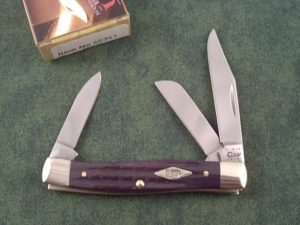 Case Knives Black 2nd Cut Bone Stockman