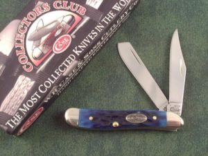 Case Knives Ocean Blue Bone CCC Trappernut