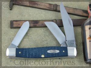 Case Knives Large Stockman Navy Blue Jig Composite CA13004