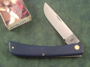 Case Knives Blue Composite Large Sodbuster