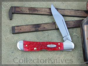 Case XX Dark Red Bone CV Small Copperlock