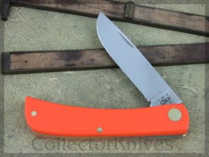 Case Cutlery Sodbuster Jr Orange Synthetic