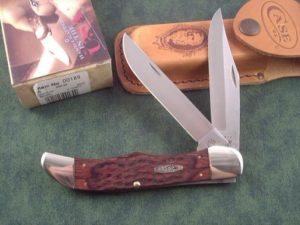 Case Knives Jigged Rosewood Folding Hunter