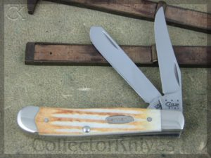 Case Cutlery Mini Trapper 5207SS Jigged Stag CA36316
