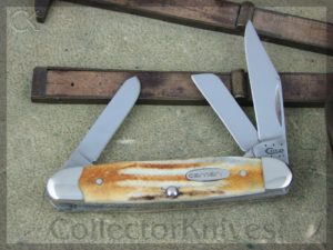 Case Cutlery Medium Stockman 53090SS Jigged Stag CA36317