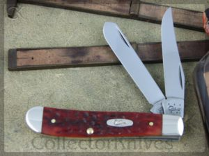 Case Knives Chestnut Bone CV Mini Trapper (CA7012)