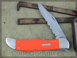 Case Knives Folding Hunter Orange Delrin CA80501