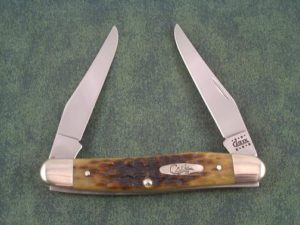 Case Knives Associates Set Antique Bone Muskrat
