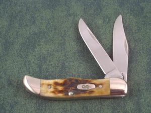 Case Knives Associates Set Antique Bone Pocket Hunter