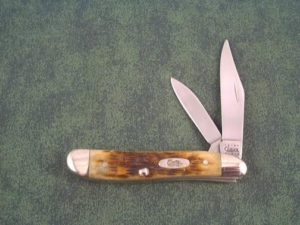 Case Knives Associates Set Antique Bone Peanut