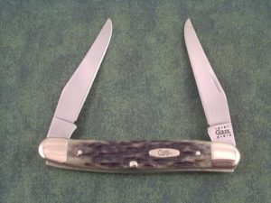 Case Knives Associates Set Black Bone Muskrat