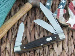 Cold Steel Ranch Boss Large Stockman Brown Motley Bone 54VSM