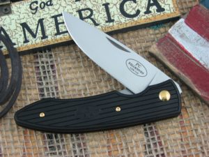 Fallkniven PC Black Grilon Plain Laminated Cobalt Steel