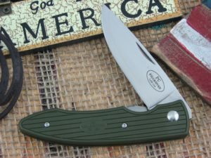 Fallkniven PC Green Grilon Plain Laminated Cobalt Steel