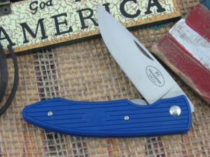 Fallkniven PC Blue Grilon Plain Laminated Cobalt Steel