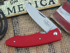 Fallkniven PC Red Grilon Plain Laminated Cobalt Steel