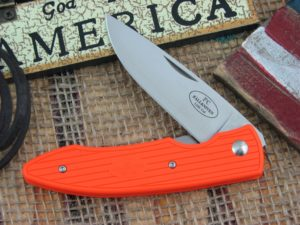 Fallkniven PC Orange Grilon Plain Laminated Cobalt Steel