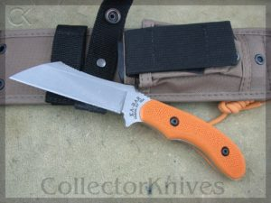 Ka-bar Adventure Wharnstalker KA5604, Textured Orange Zytel Handles, 1095
